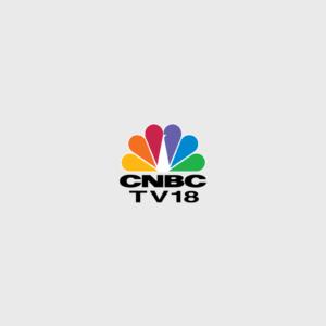 Logo of CNBC TV18